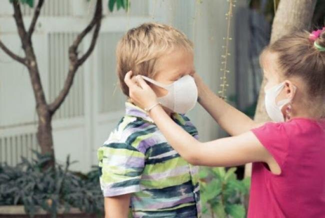 Чи повинні діти носити маски у дитячих садках. Пояснення МОЗ